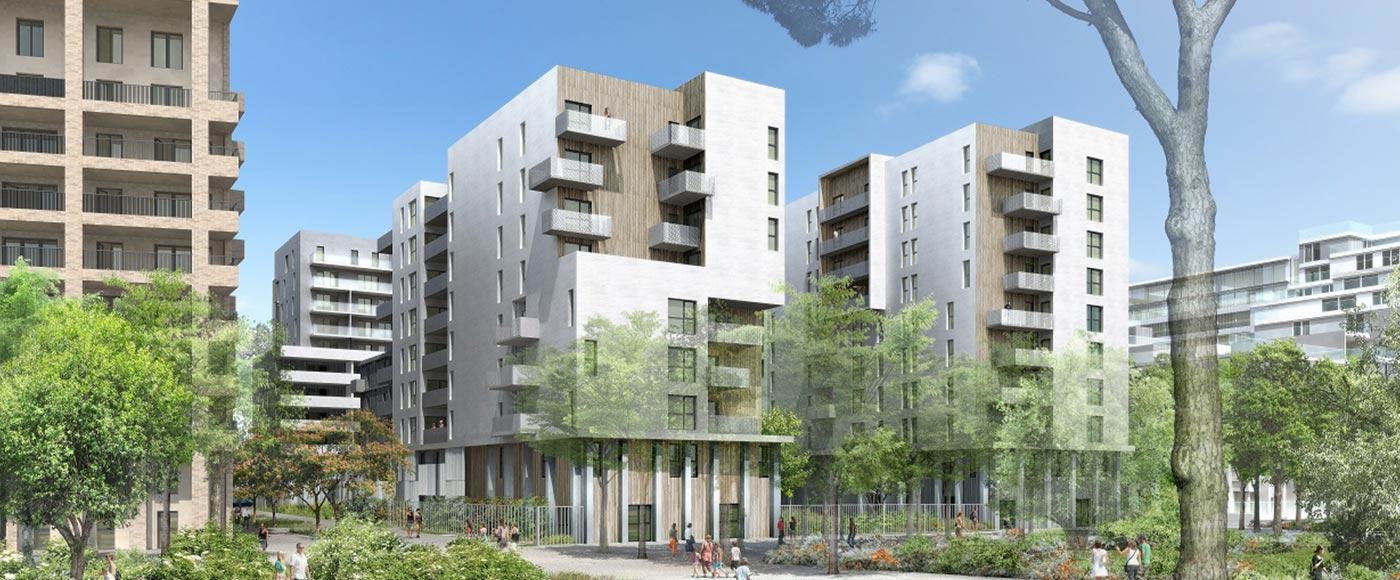 Programme immobilier pinel bordeaux 33 for Appartement bordeaux euratlantique
