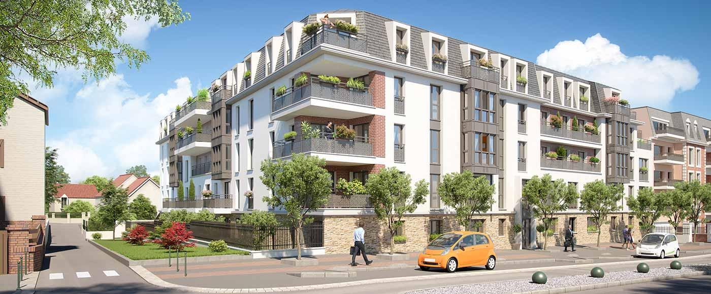 programme immobilier pinel franconville 95. Black Bedroom Furniture Sets. Home Design Ideas